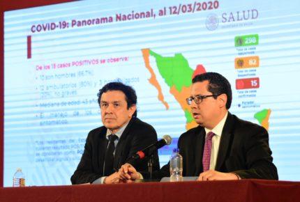 Se confirman en México 16 casos de coronavirus
