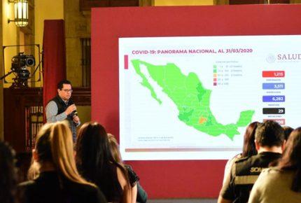 Covid-19 en México: suman 29 decesos y más de mil 200 casos