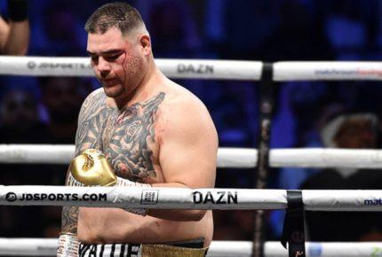 """Boxeador llama """"gordo"""" a Andy Ruiz por rechazar pelea"""