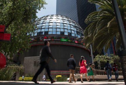 Peso y Bolsa Mexicana de Valores cierran jornada con ganancias