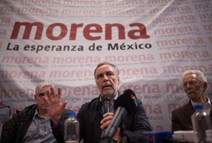 Reconoce INE a Ramírez Cuéllar como dirigente de Morena