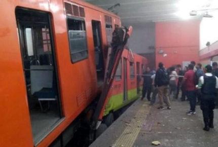 Chofer ligado a choque en Metro Tacubaya es separado del cargo