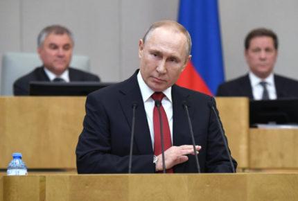 Anuncia Putin cobro de impuestos a familias de más ingresos