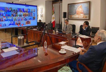 AMLO pide en G20 control de comercio de medicamentos