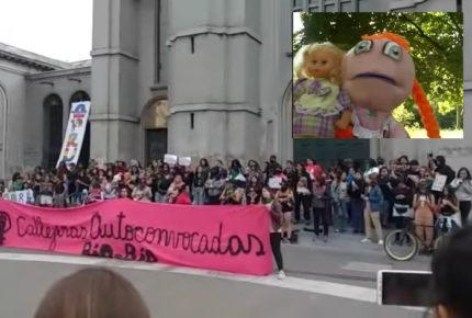 Chilenas transforman canción de '31 minutos' en himno feminista