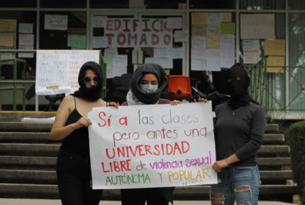 En paro cinco facultades de la UAEMéx por violencia de género