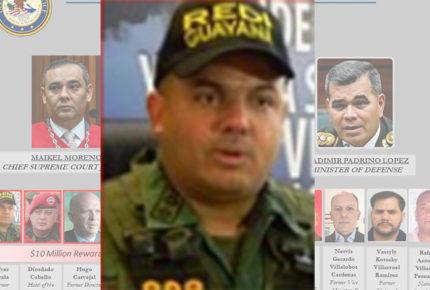 Se entrega general venezolano acusado de narcotráfico por EU