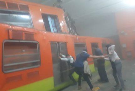 Choque en Metro Tacubaya causó daños por 150 mdp