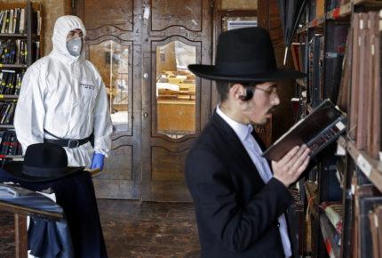 Reprenden a judíos ultraortodoxos por no respetar cuarentena