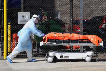 Nueva York rompe récord de muertes en un día por Covid-19