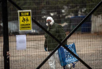 Grecia pone en cuarentena a campamento de 1,700 migrantes