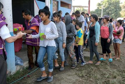 CNDH acompañó a migrantes para seguir con trámite de asilo en EU