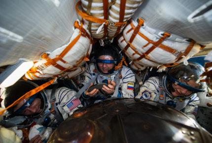 David Bowie presente en caminata espacial