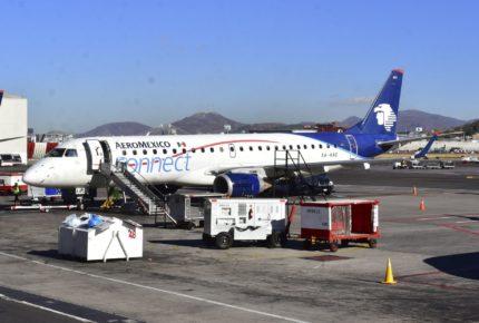 Permiten a Aeroméxico cambiar contratos para renta de aviones
