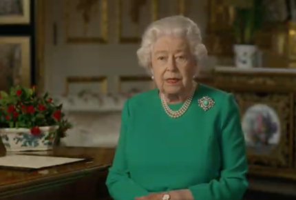 'Venceremos' al Covid-19, asegura la reina Isabel II