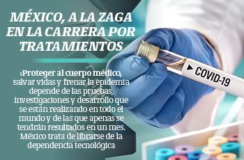 México, a la zaga en la carrera por tratamientos