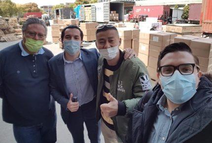 Insumos médicos comprados en China llegan el miércoles: Ebrard