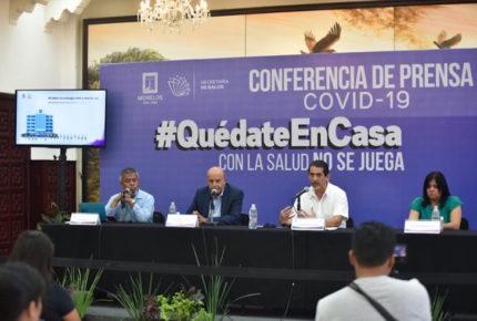 Se registra la tercera muerte por Covid-19 en Morelos