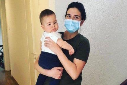 Un bebé mexicano se cura de Covid-19