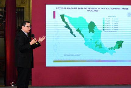 Aumenta a 332 la cifra de muertes por Covid-19 en México