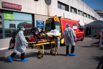 Francia registra 588 muertos por Covid-19 en un día