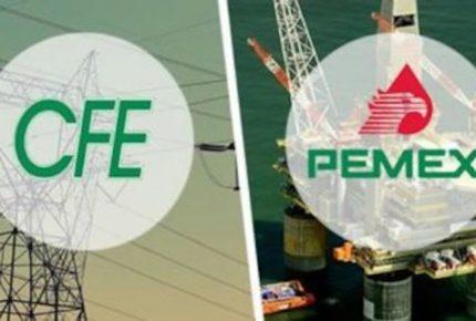 Fitch Ratings castiga a Pemex y CFE; les rebaja calificación