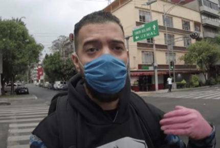 Youtuber con Covid-19 es criticado por romper la cuarentena