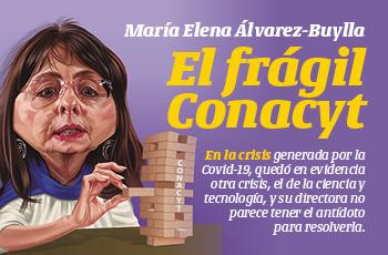 La Portada | María Elena Álvarez-Buylla: El frágil Conacyt