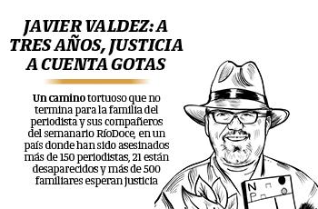 Javier Valdez: a tres años, justicia a cuenta gotas