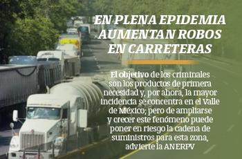 En plena epidemia aumentan robos en carreteras
