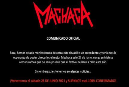 ¡Hasta el 2021! Cancelan edición 2020 del Machaca Fest