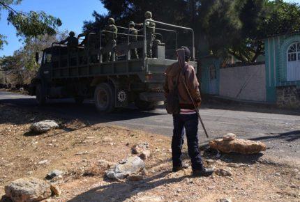 Tras enfrentamientos, arriban fuerzas de seguridad a Cuetzala
