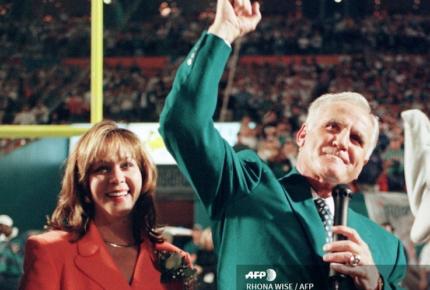Falleció Don Shula, el entrenador con más victorias en la NFL