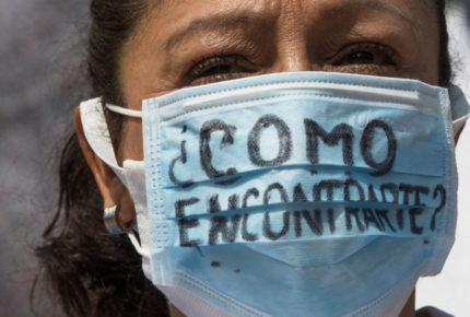Madres de desaparecidos protestan en CDMX