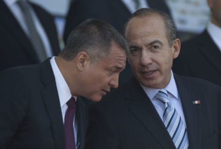 Calderón dice que no sabía de los vínculos de García Luna con el narco
