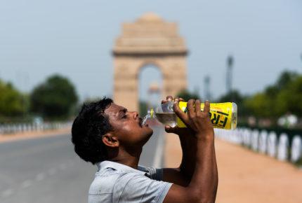 India registra temperaturas de hasta 50 grados