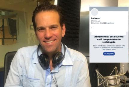 Loret de Mola acusa a AMLO de censura por restricción de cuenta de Twitter