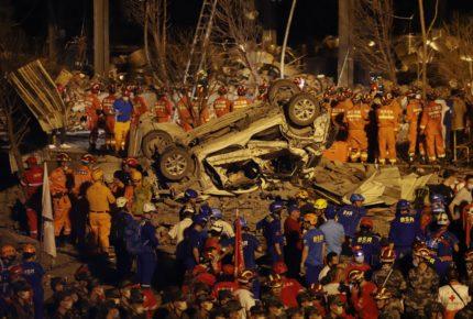 Pipa estalla y deja 19 muertos en China