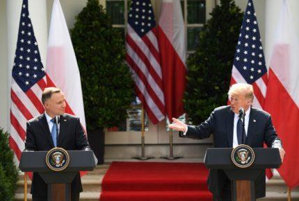 Trump anuncia traslado de militares de Alemania a Polonia