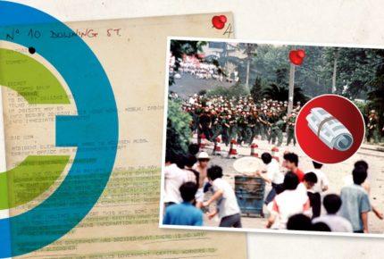 La masacre de Tiananmen