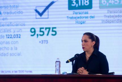 Aprueba IMSS 9 mil 575 solicitudes para Crédito Solidario