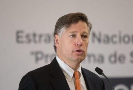 Destaca Landau cooperación EU-México en Caso LeBarón
