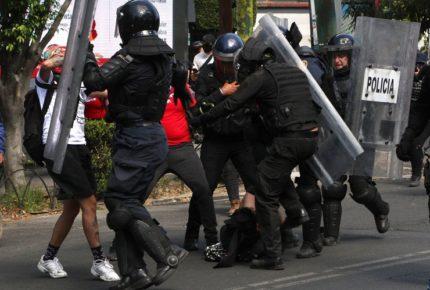 Presentan plan de actuación policial durante manifestaciones en CDMX