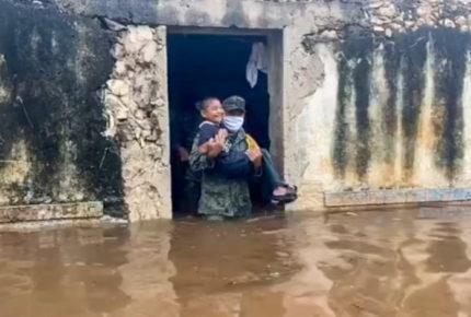 Debido a las lluvias Murat solicita declaratoria de desastre en Oaxaca