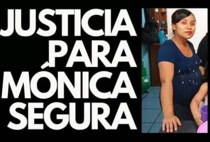 Piden justicia para Mónica, joven asesinada tras sacarle a su bebé