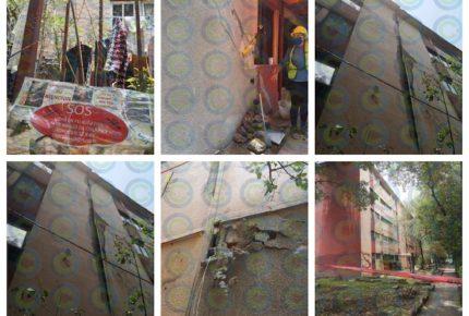 Desalojan a 40 familias en Unidad Lindavista-Vallejo en la CDMX