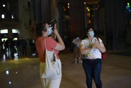 Basílica de la Sagrada Familia de Barcelona reabre sus puertas