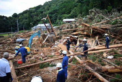 Lluvias en Japón dejan 34 muertos y 14 desaparecidos