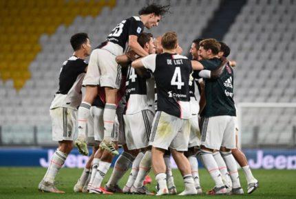 Por noveno año consecutivo, la Juventus gana la Serie A