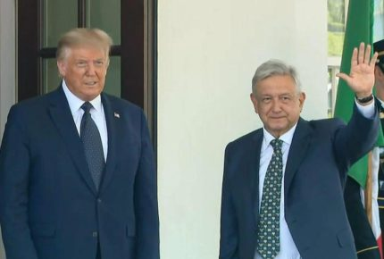 Se reúne López Obrador con Donald Trump en la Casa Blanca